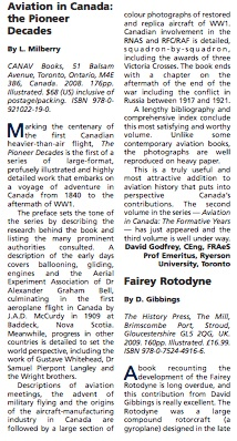 by Davd Godfrey in Aerospace Professional, January 2010