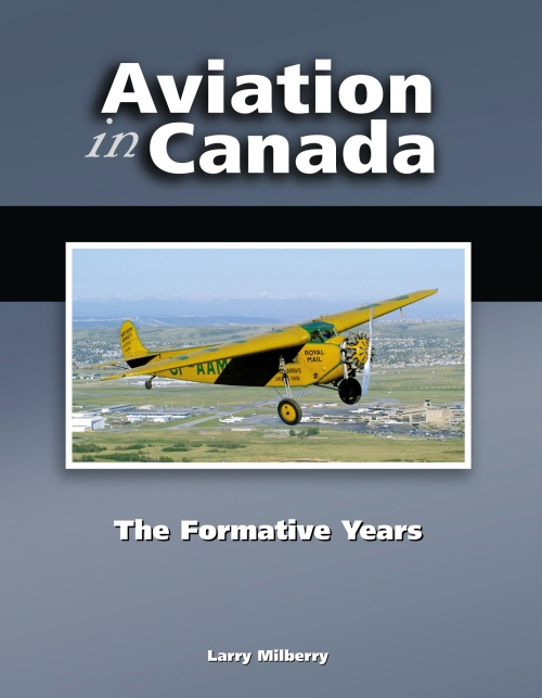 Aviation in Canada - The Formative Years book cover