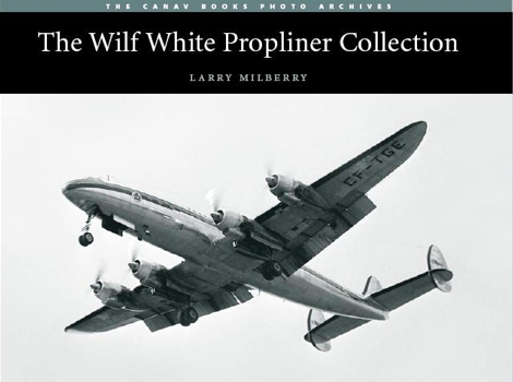 The world famous TCA Super Connie CF-TGE, soon to be on display at the Museum of Flight, is featured on the cover of The Wilf White Propliner Collection. Check out the booklist to order.