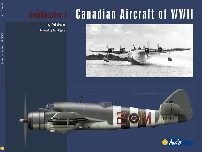 Introducing Canadian Aircraft Of Wwii By Carl Vincent