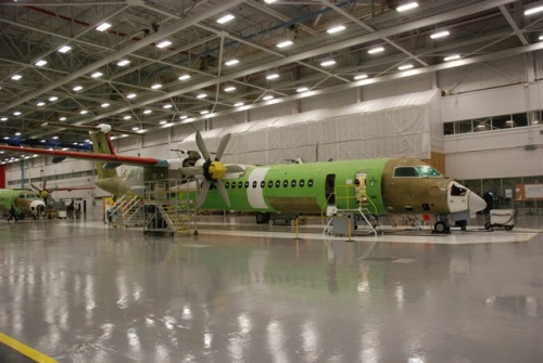Q400s on the production line