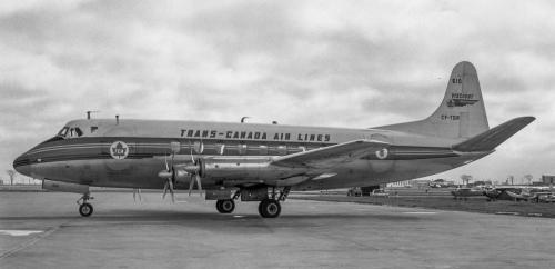 TCA Viscount CF-TGR