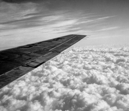 TCA Viscount CF-TGR - clouds