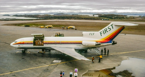 Boeing 727 C-FRST YFB Combi 15-8-92