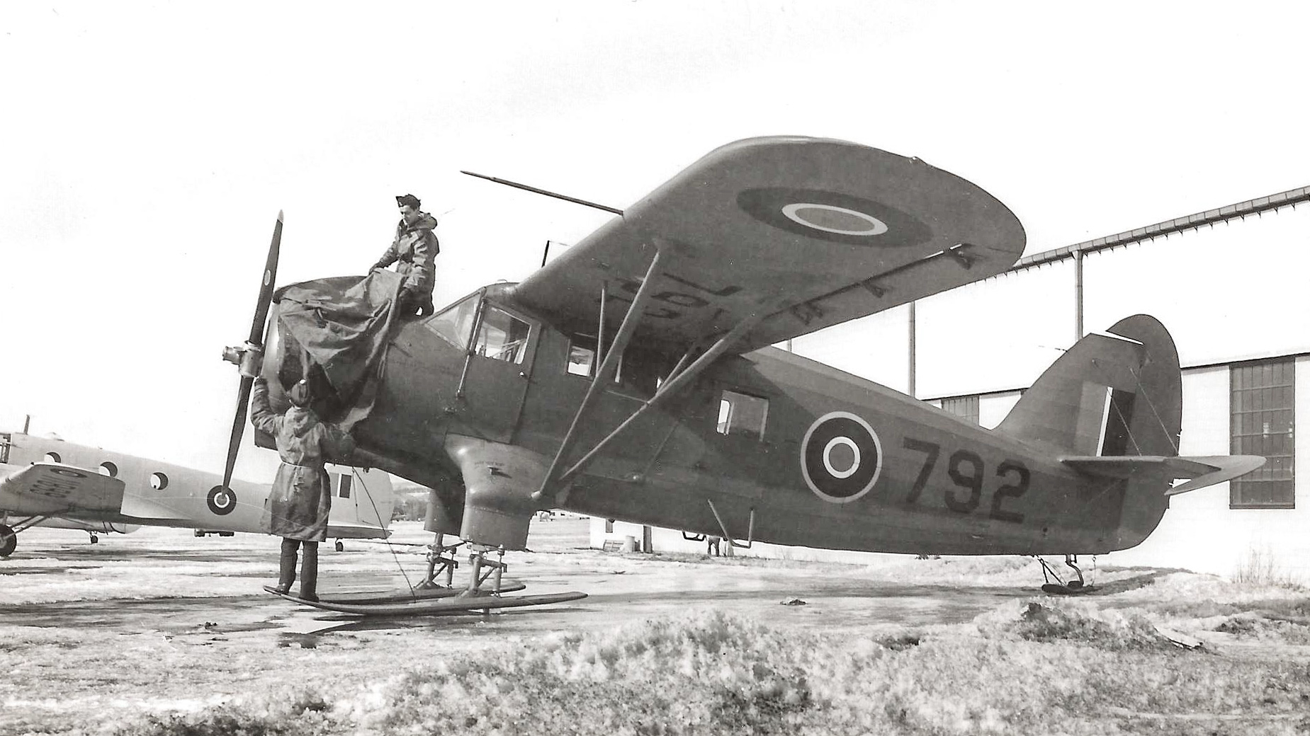On p.125 of Norseman Vol.1 there's a photo of RCAF Norseman 792