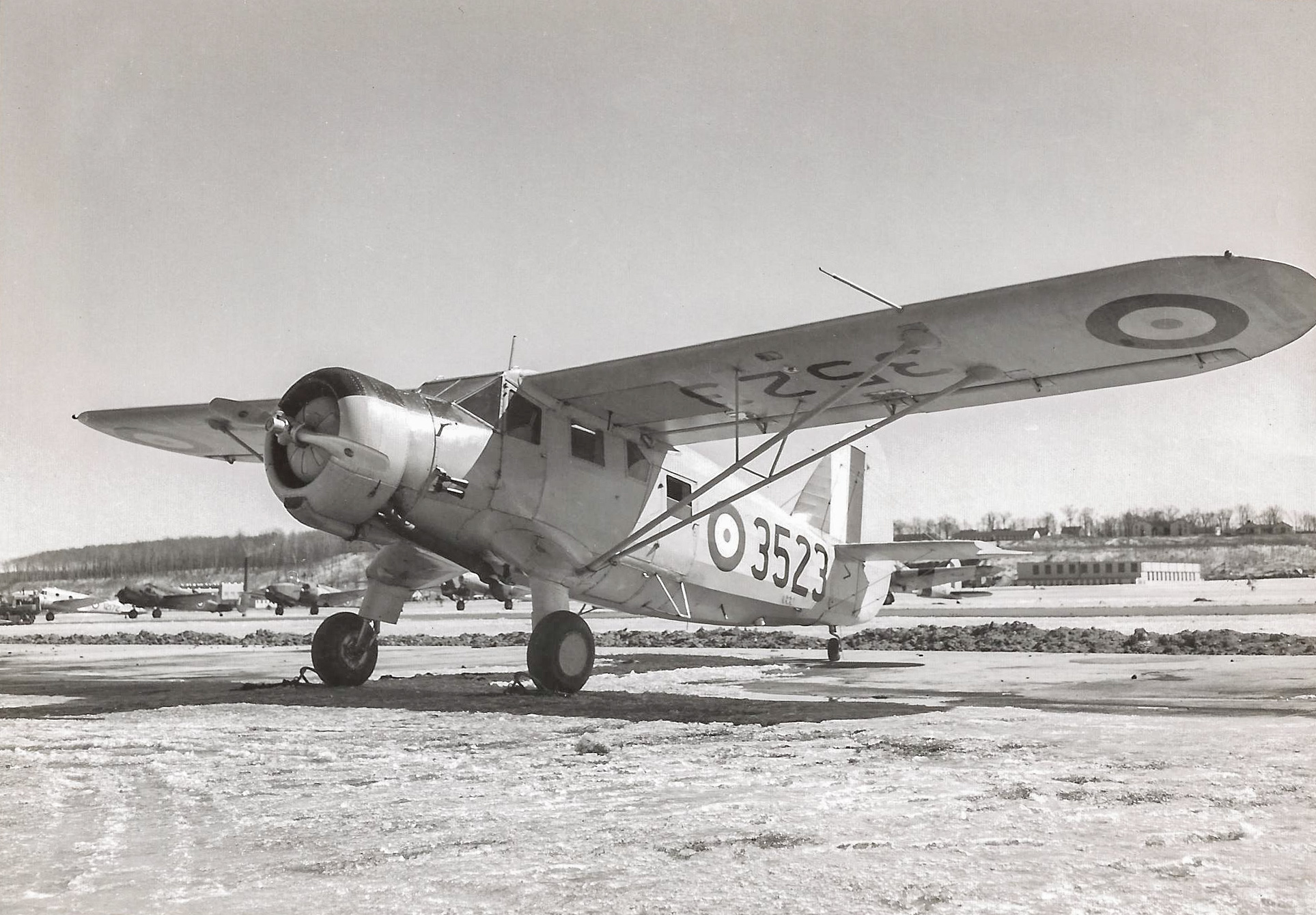 Pristine Looking Norseman 3523 At Rest Rockcliffe An Anson V Beech 18