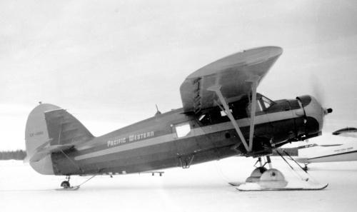 Norseman 1 CF-BHU PWA Wegg Col