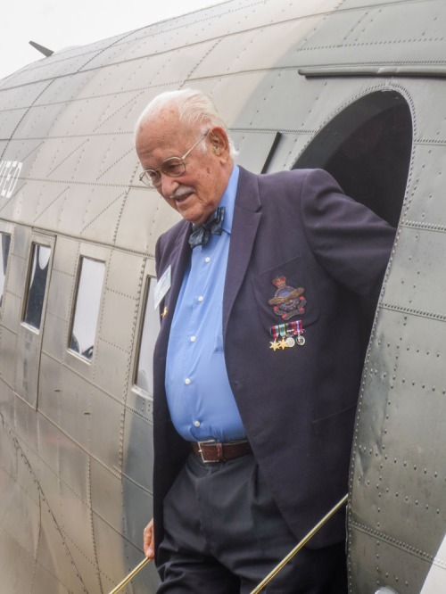 Wally Ward steps down from the CWH Dakota.
