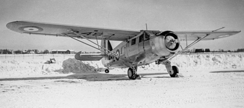 RCAF Norseman 2482 in wartime days.The colour scheme was standard yellow overall. Postwar, 2482 became CF-JIN,  remaining in service into 2015. (CANAV Books Collection)
