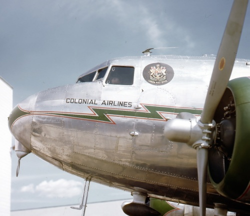 Having begun in 1944 as USAAF 43-15079, this DC-3 was acquired by Canadair for conversion and sold circa 1947 to Aeroposta Argentina. Little is known of its later career, but there is a mention that it may have been wrecked soon after migrating to the Southern Hemisphere.