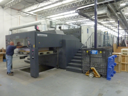 Friesen Trip Altona 10 ... 4-6 August 2015 new Manroland R900 8-colour press