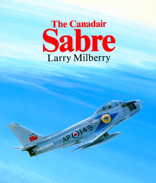 Canadair Sabre dust jacket