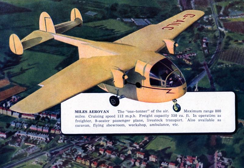 12 miles aerovan