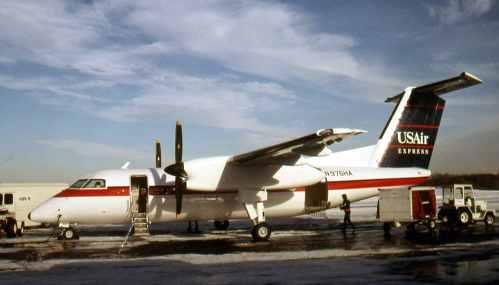 Dash 8 No.12 US Air Express N975HA