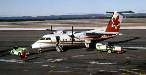Dash 8 No.14 Air Alliance Dash 8 C-FJMO at Sept-Ilse