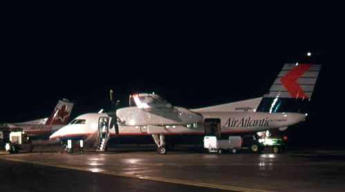 Dash 8 No.15 Air Atlantic at Fredericton