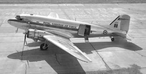 Corness Blog_6 RCAF Dakota KG808