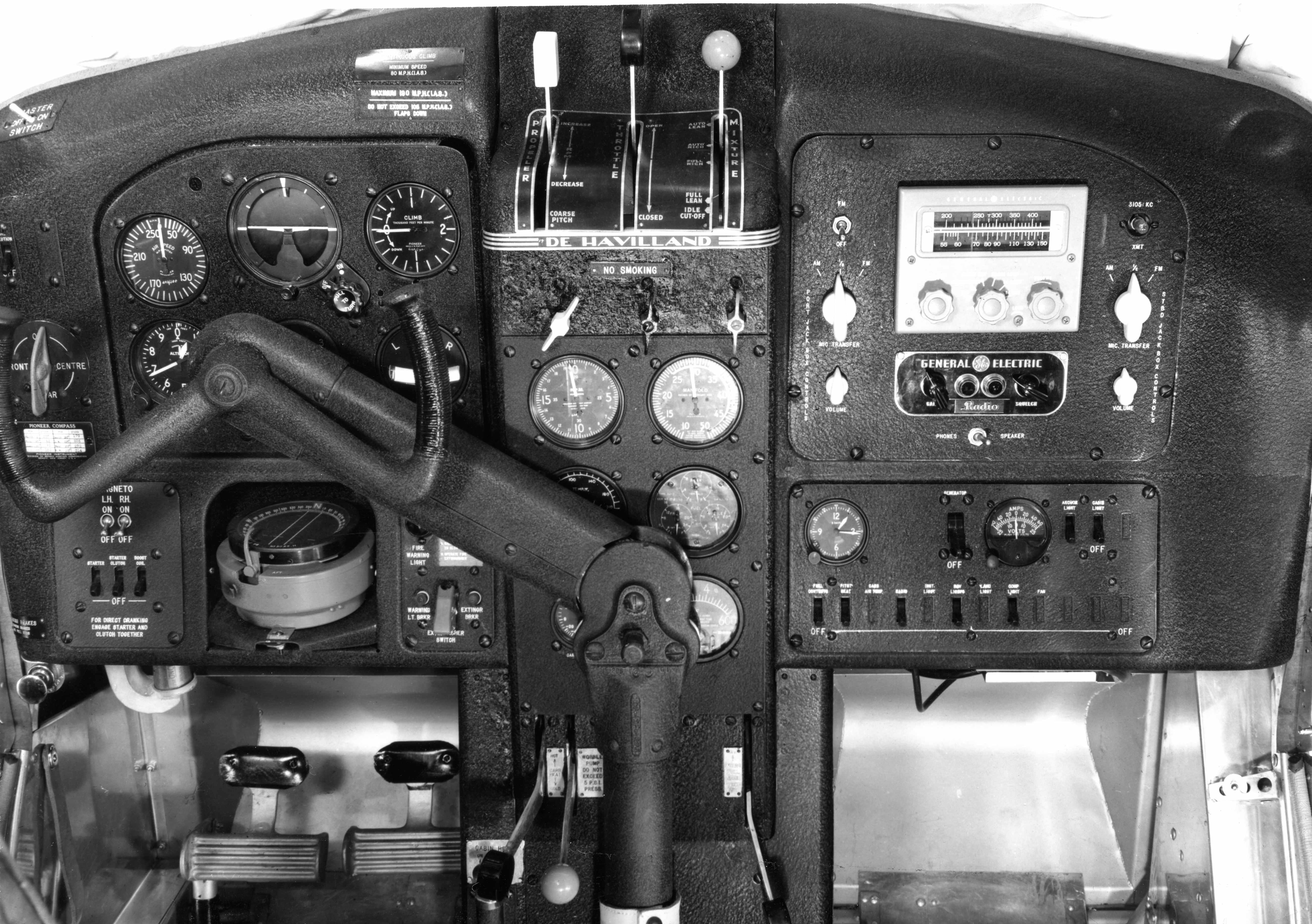 BLOG 12B HALFORD DHC Files 2-2019 Beaver Cockpit