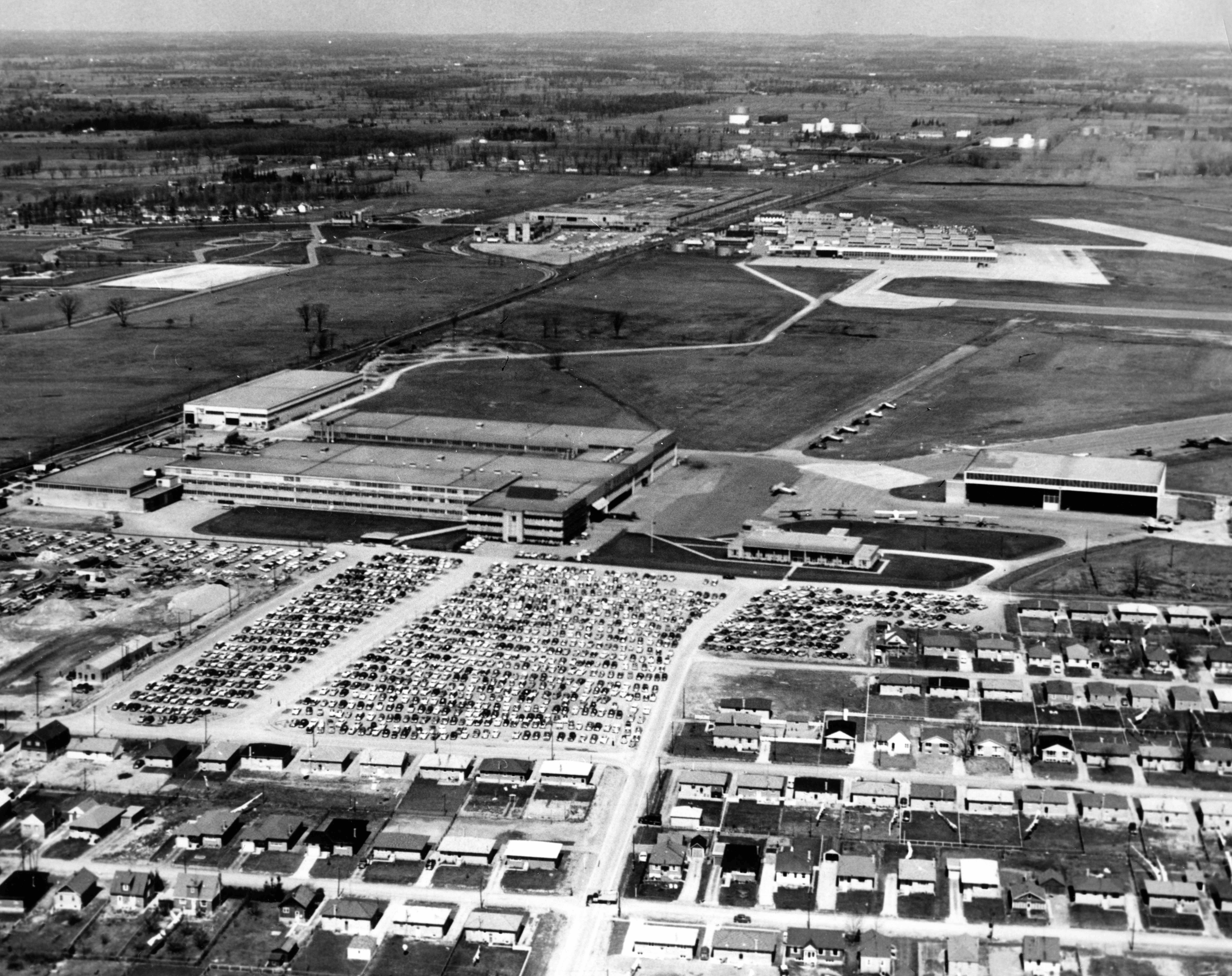BLOG 13 HALFORD DHC Files 2-2019 Aerial View C1950