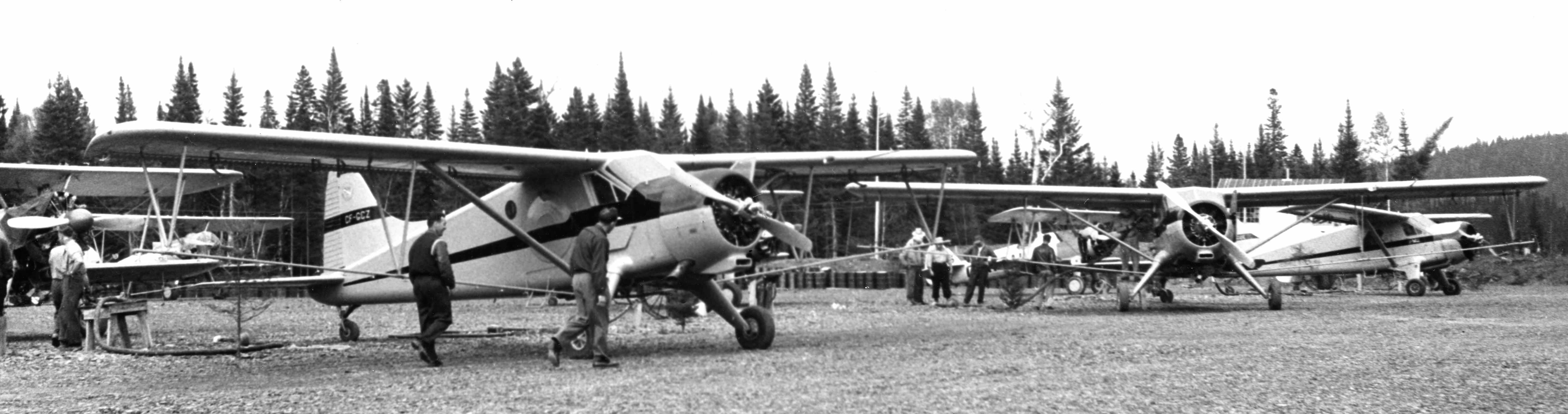 BLOG 19 HALFORD DHC Files 2-2019 Budworm spray Beavers New Brunswick 1950s CF-GCZ