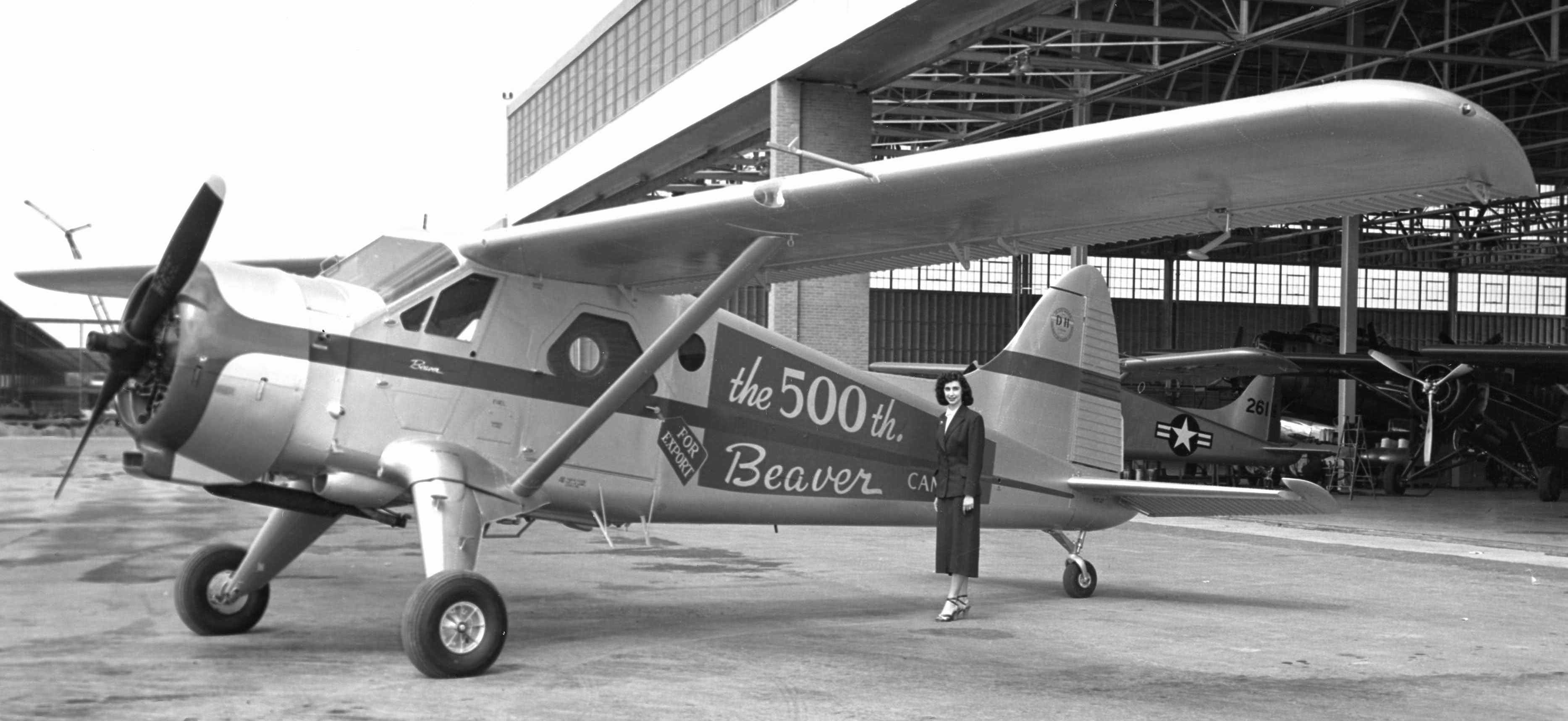 BLOG 22 Beaver 500 HALFORD DHC Files 2-2019