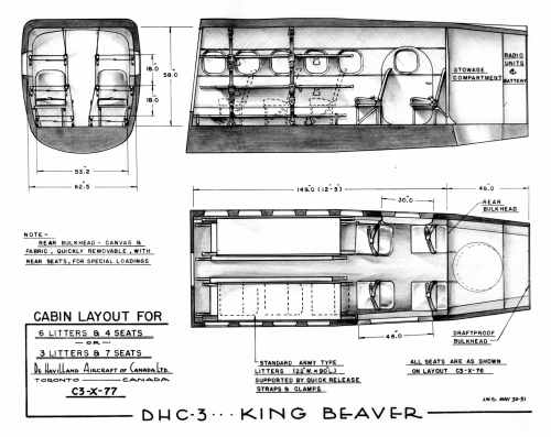 BLOG 23A HALFORD DHC Files 2-2019 Otter as King Beaver 1951