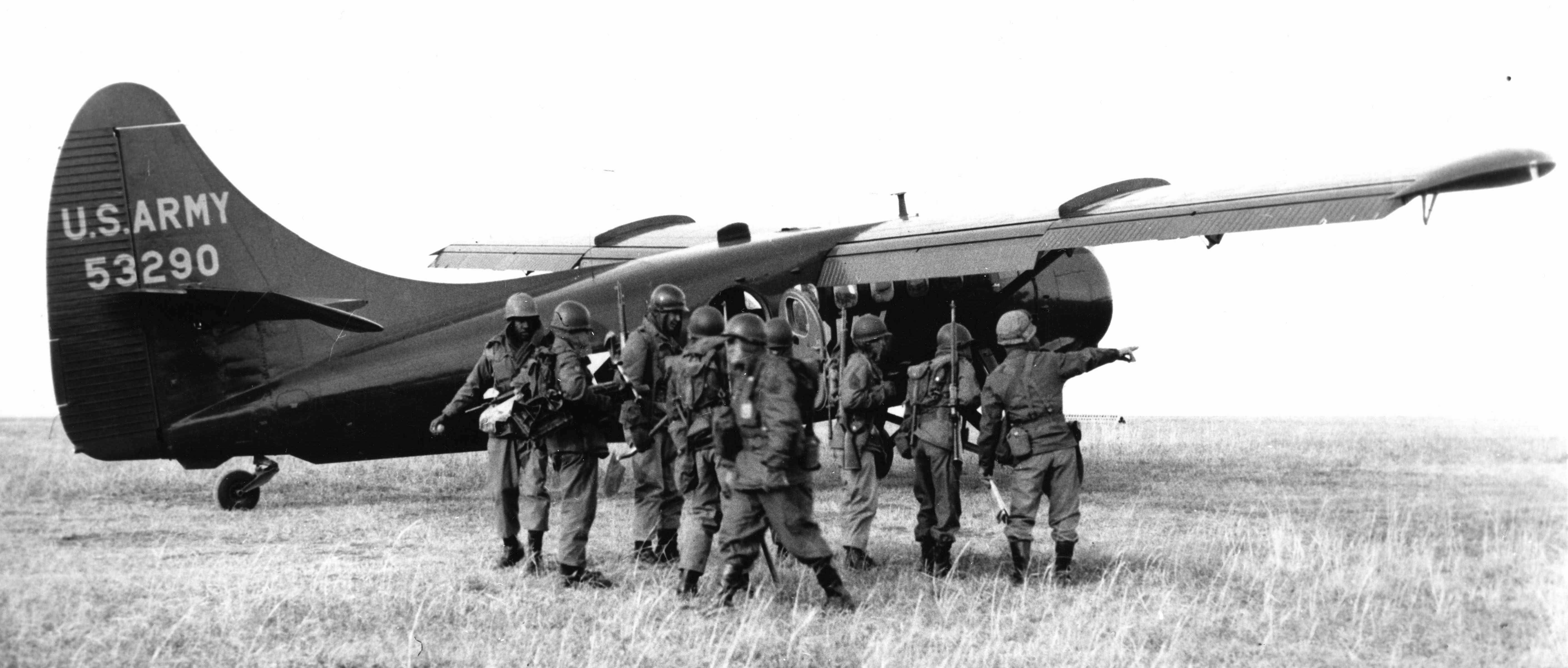 BLOG 24 HALFORD DHC Files 2-2019 Otter US Army 55-3290