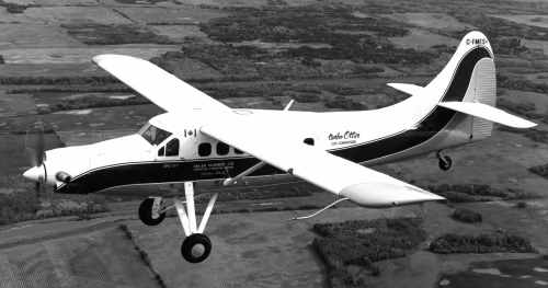 BLOG 28 HALFORD DHC File Otter Cox PT6 Prototype