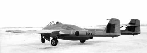 BLOG 32A HALFORD DHC Files 2-2019 First RCAF Vampire TG372 Namao 1947-48