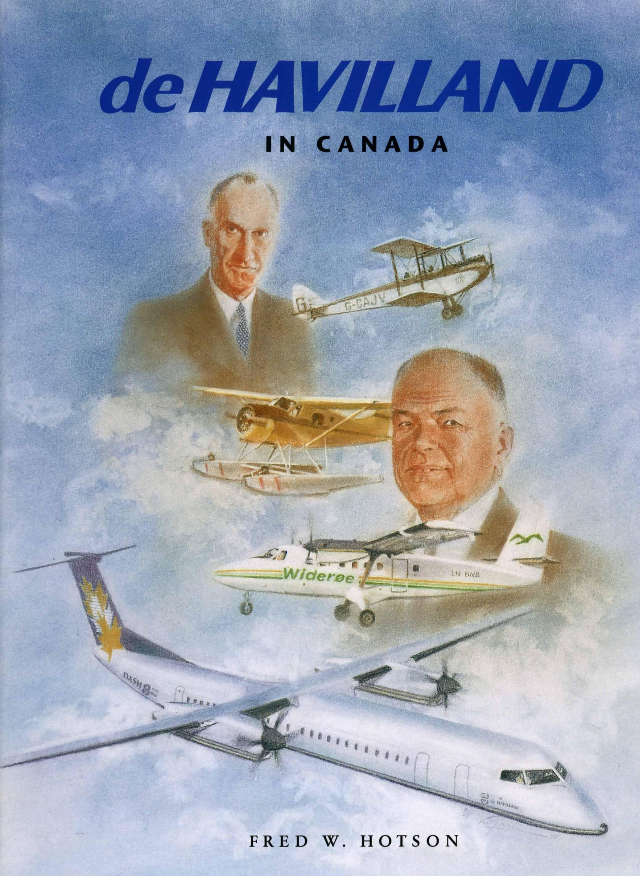 BLOG Halfdord De Havilland Book Cover