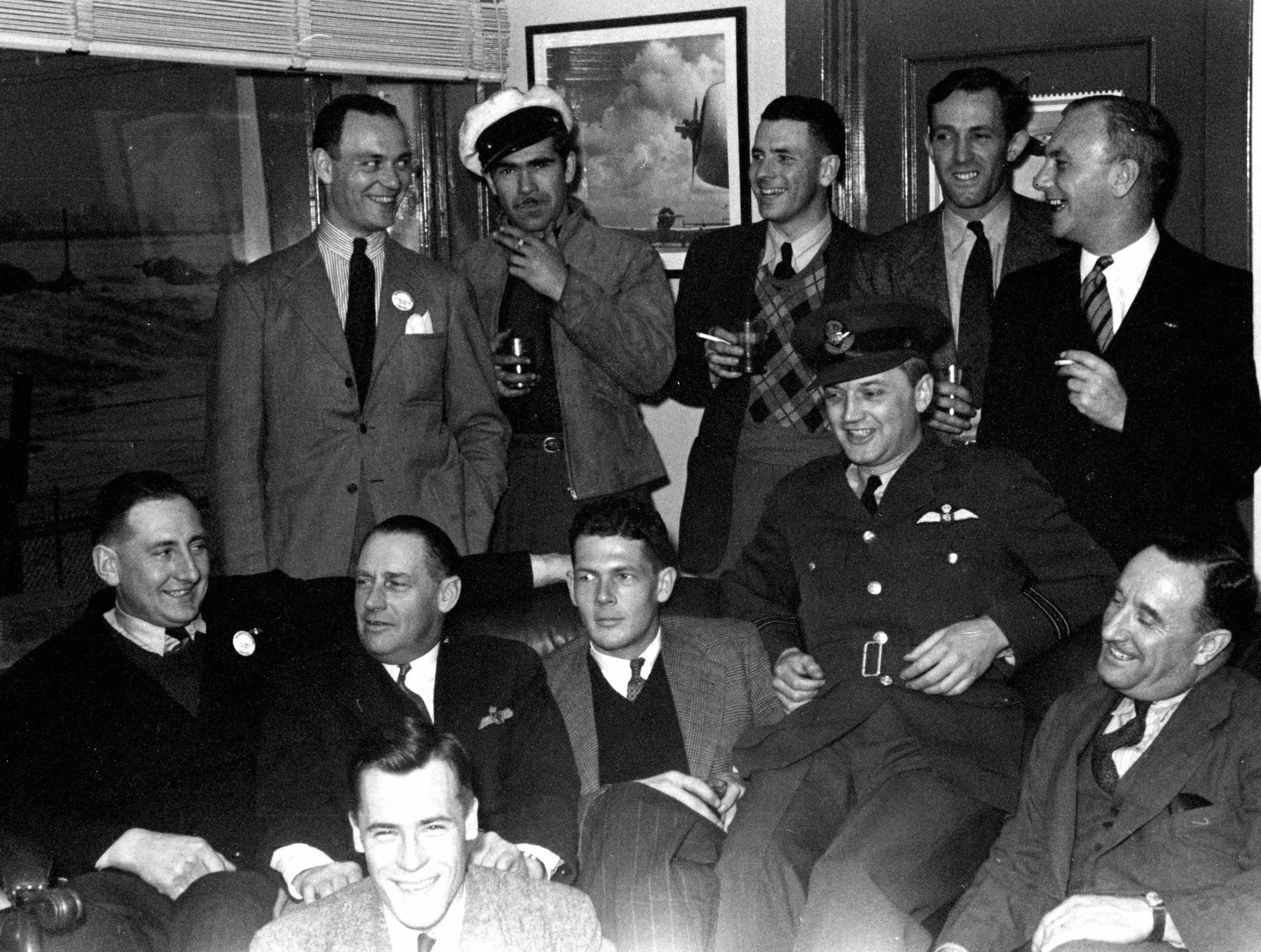 BLOG 3 McLaren Album 4 D.D. McLaren Bill Wheeler 2020 Noorduyn Pilots 1944_1