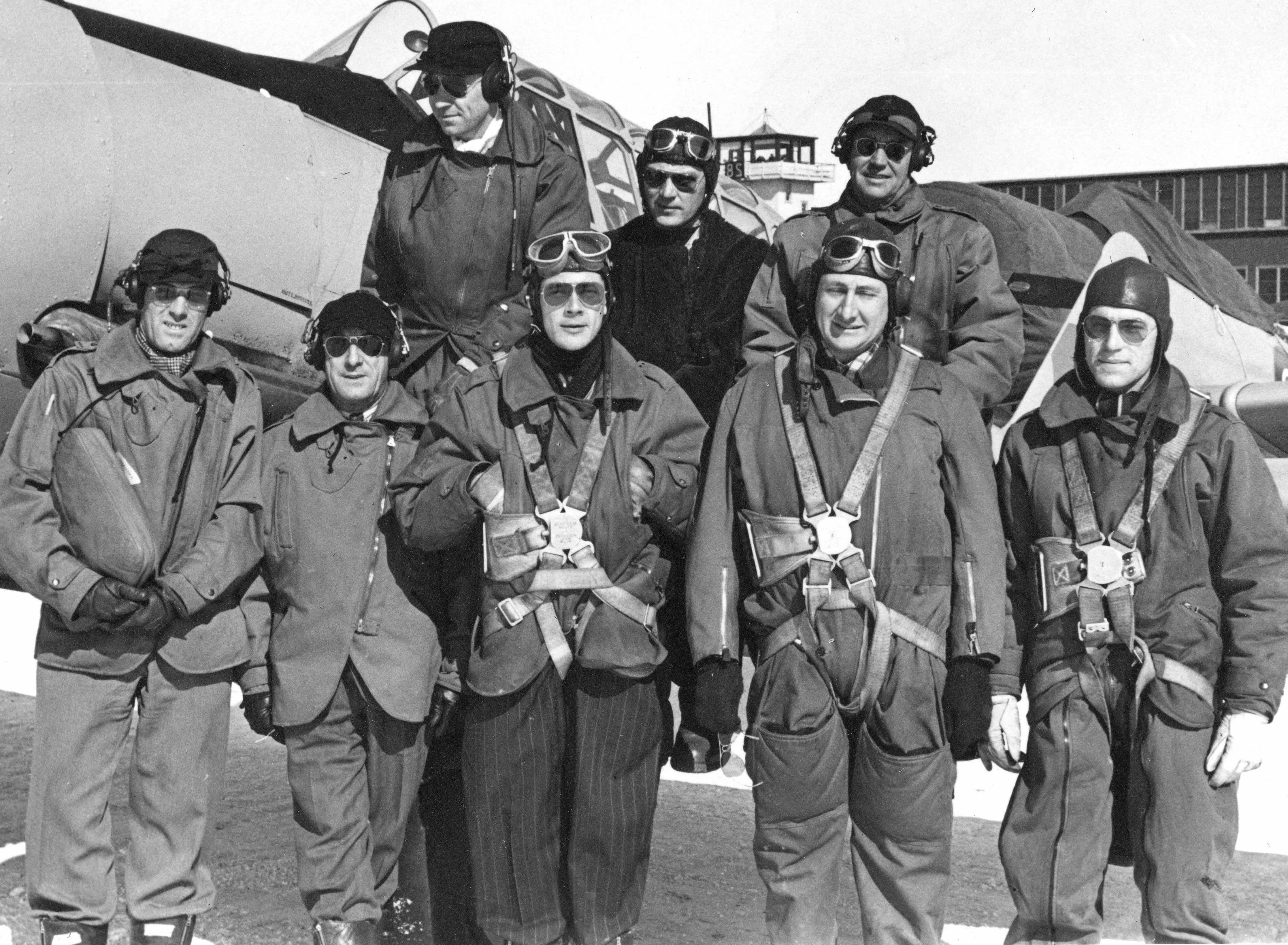 BLOG 4 McLaren Album 4 D.D. McLaren Bill Wheeler 2020 Noorduyn Pilots 1944_2